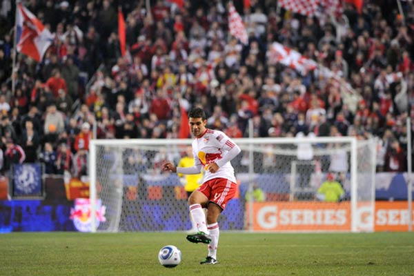 Rafa Marquez with the New York Red Bulls in 2011. Credit: Howard C. Smith - ISIPhotos.com