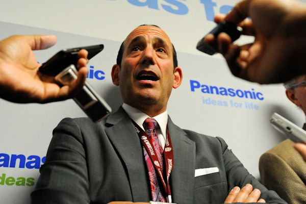 MLS commissioner Don Garber.  Credit: Howard C. Smith - ISIPhotos.com