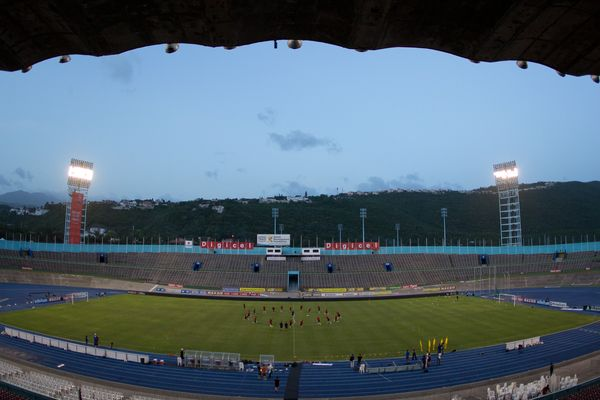 Jamaica's National Stadium. Credit: John Dorton - ISIPhotos.com