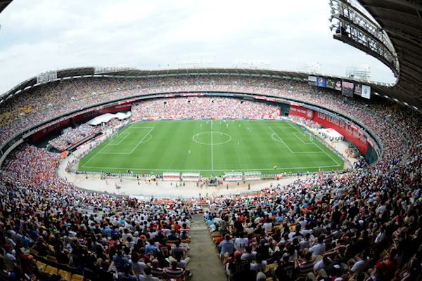 RFK Stadium during the USA - Germany game on June 2, 2013. Credit: Tony Quinn - ISIPhotos.com