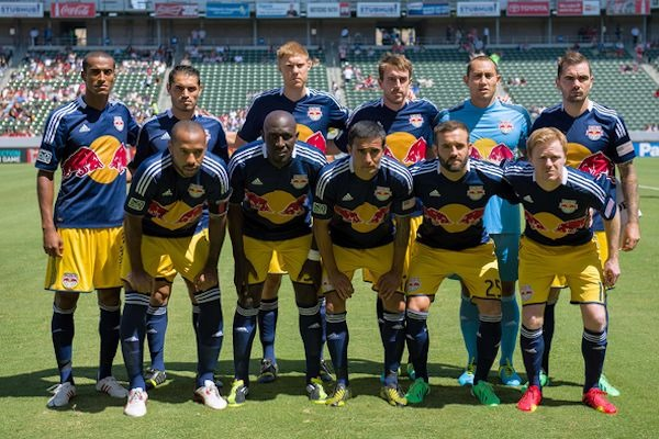 Despite those shorts, the Red Bulls have the best look in MLS this season. Credit: David Bernal - ISIPhotos.com