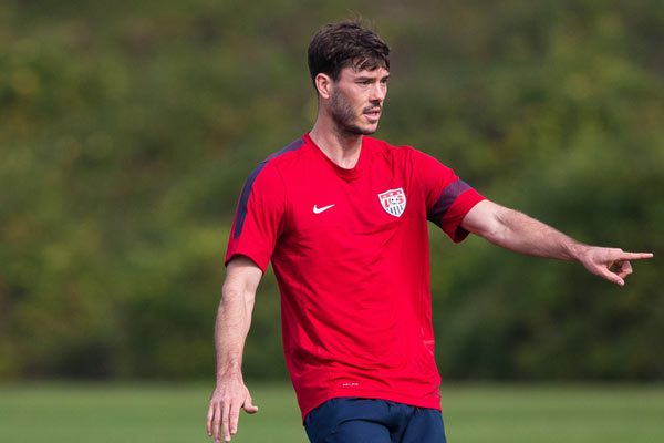 USMNT player Brad Evans. Credit: Michael Janosz