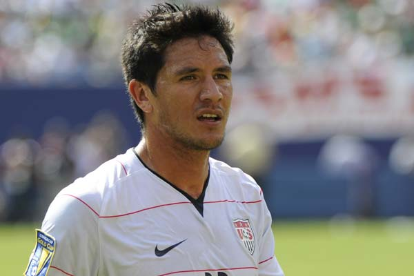 USMNT soccer player Brian Ching.