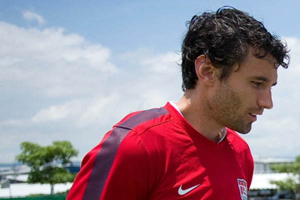 US National Team defender Michael Parkhurst. Credit: John Todd - ISIPhotos.com