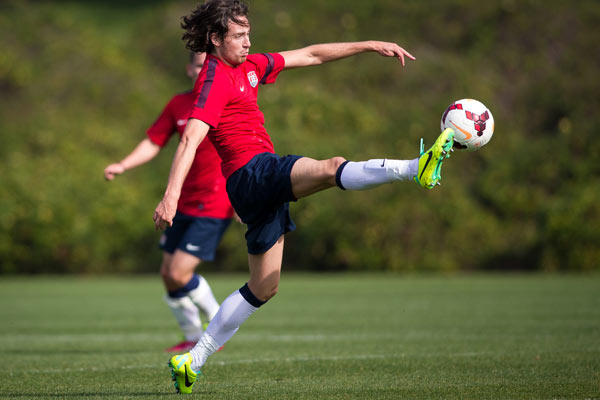 USMNT player Mix Diskerud. Credit: Michael Janosz - ISIPhotos.com
