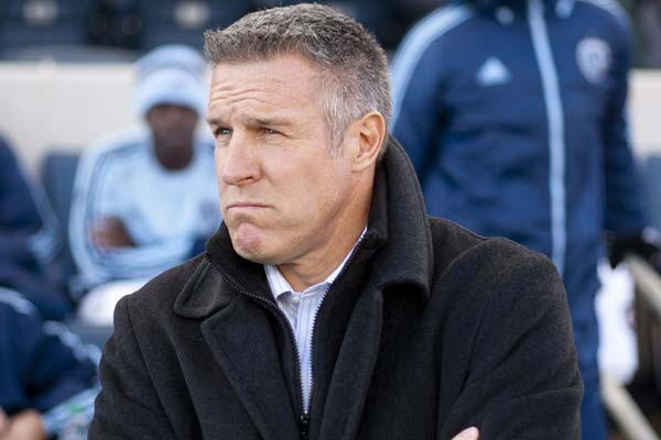 USMNT soccer player Peter Vermes. credit: Brad Smith - ISIPhotos.com