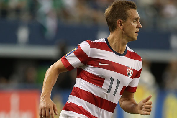 USMNT soccer player Stuart Holden. Credit: Rick Yeatts - ISIPhotos.com