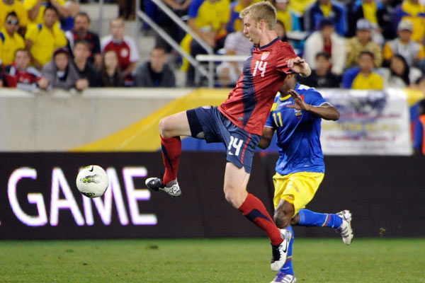 USMNT soccer player Tim Ream. Credit: Howard C. Smith - ISIPhotos.com