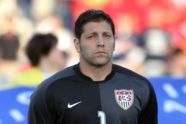 USMNT player Tony Meola.