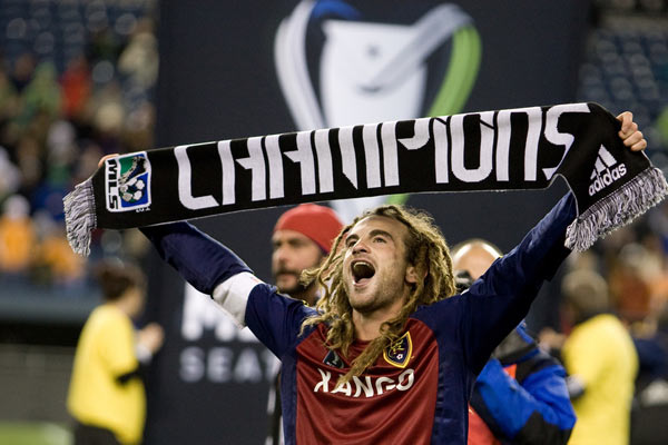 kyle beckerman, 2009 mls cup, real salt lake