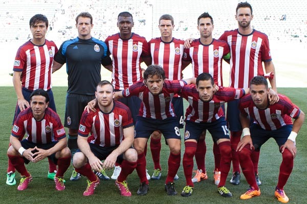 Chivas USA, prior to their MLS week 2 game against Vancouver. Credit ...