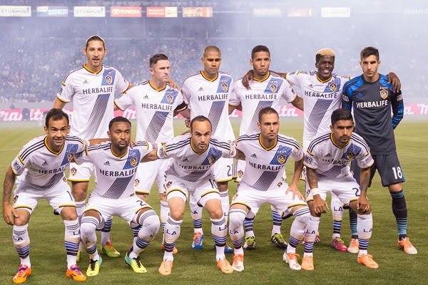 LA Galaxy Sideline Photographer