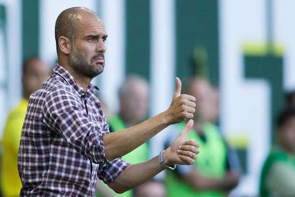 pep-guardiola-bayern-munich-thumbs-up