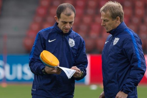 javier-perez-jurgen-klinsmann-usmnt-soccer-coaches