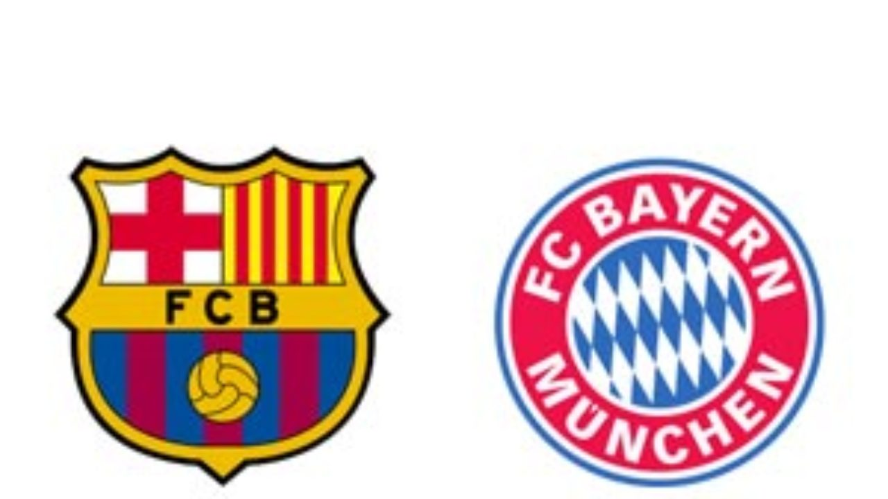 Soccer Tv Barcelona Vs Bayern Munich Us Soccer Players