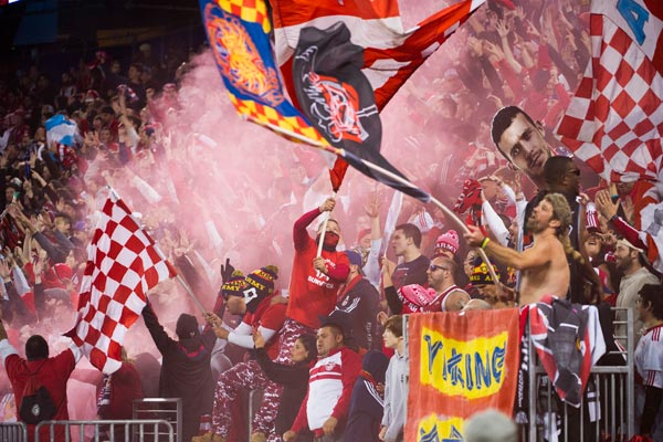 mls new york red bulls fans 2015 playoffs major league soccer