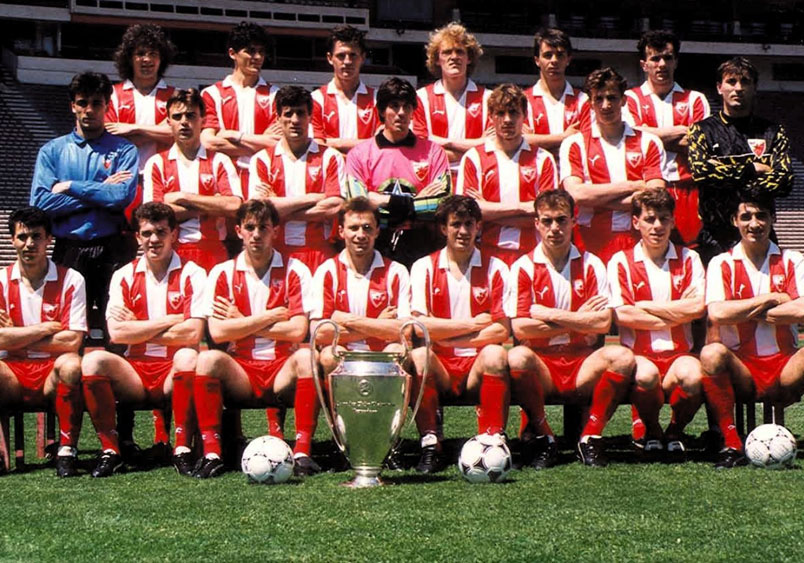 When Red Star Belgrade became champions of Europe | US Soccer Players