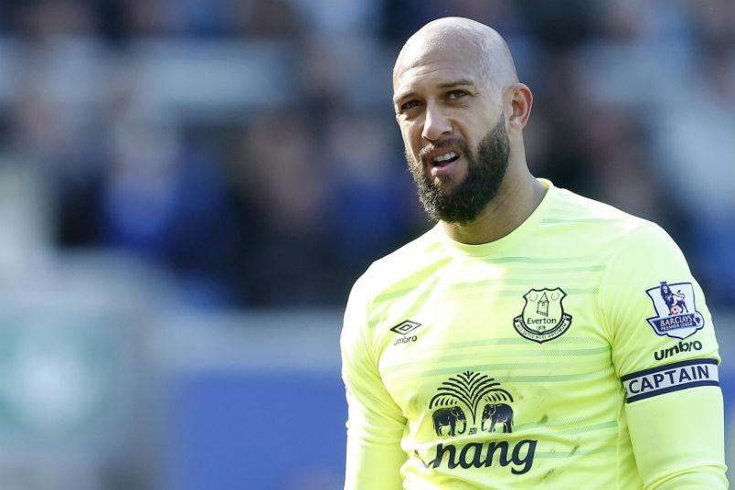 sale retailer 70013 ea59f Howard back in goal for Everton | US Soccer Players