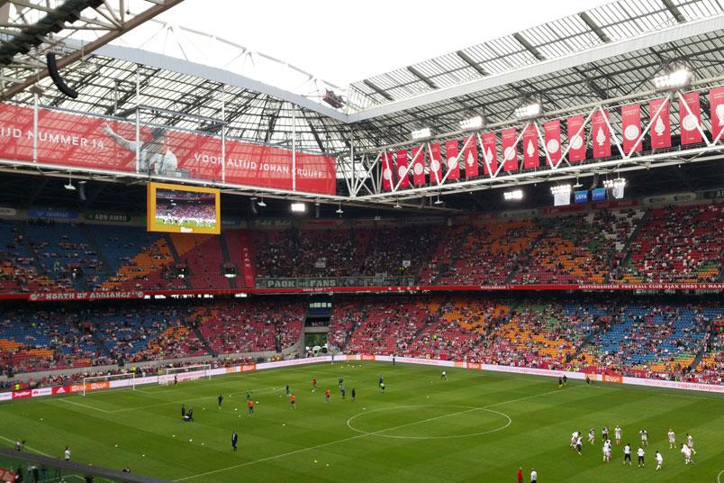 Ajax Soccer Club Amsterdam Schedule