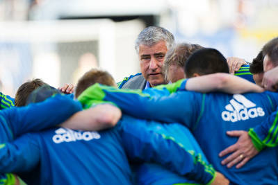 Sigi Schmid's clubs play for a title