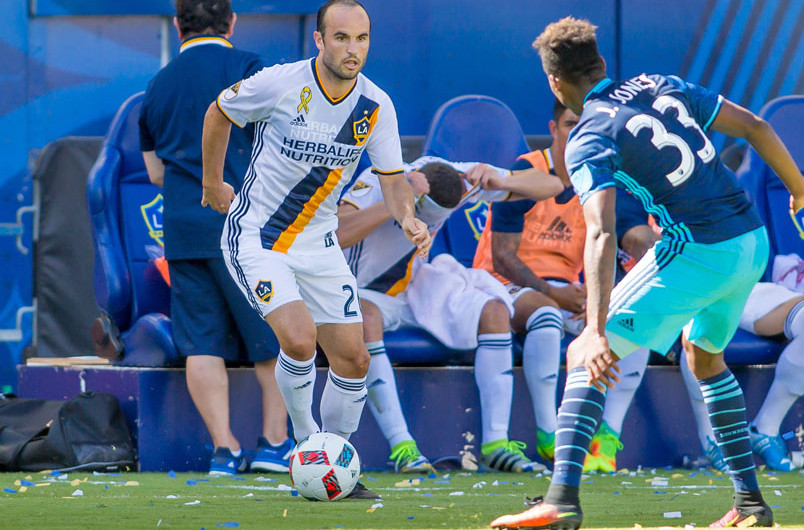 Then and now with the LA Galaxy