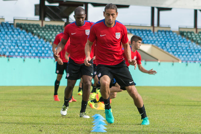 usmnt training st vincent sept 2016 concacag world cup qualifying soccer