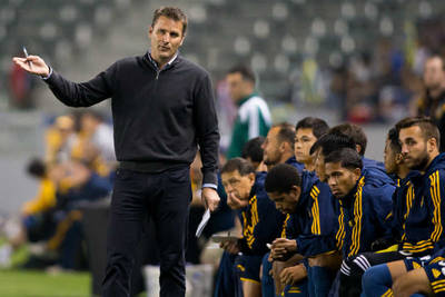 Is the Galaxy making a bigger statement through Curt Onalfo?