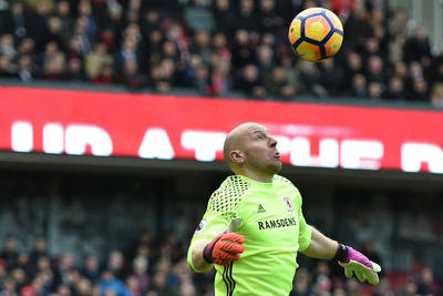 Guzan gets a game for Middlesbrough