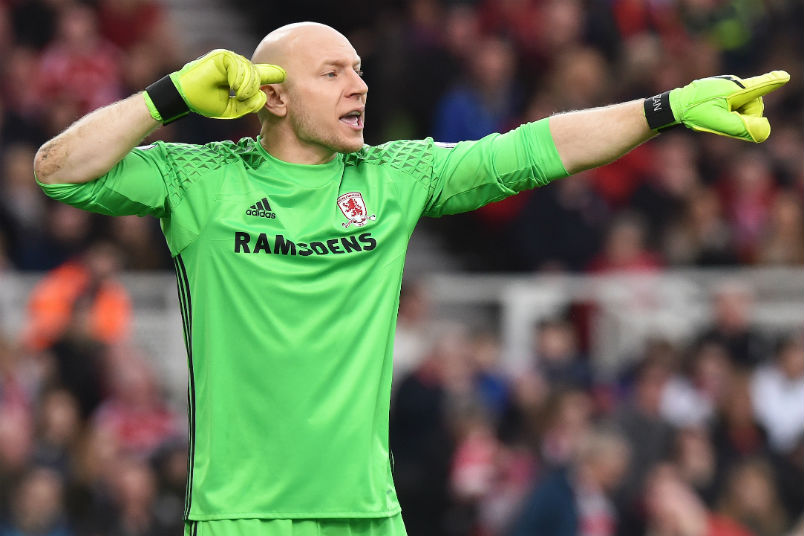Guzan in goal for Middlesbrough in FA Cup | US Soccer Players