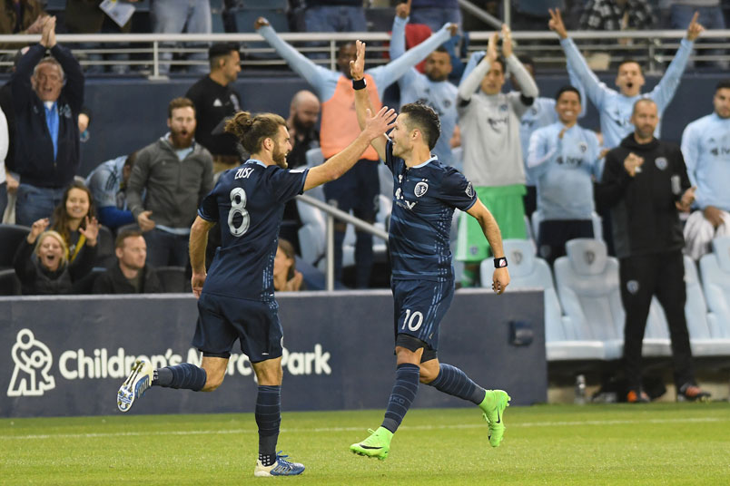 sporting-kansas-city-goal-celebration-graham-zusi-benny-feilhaber-mls-soccer-players