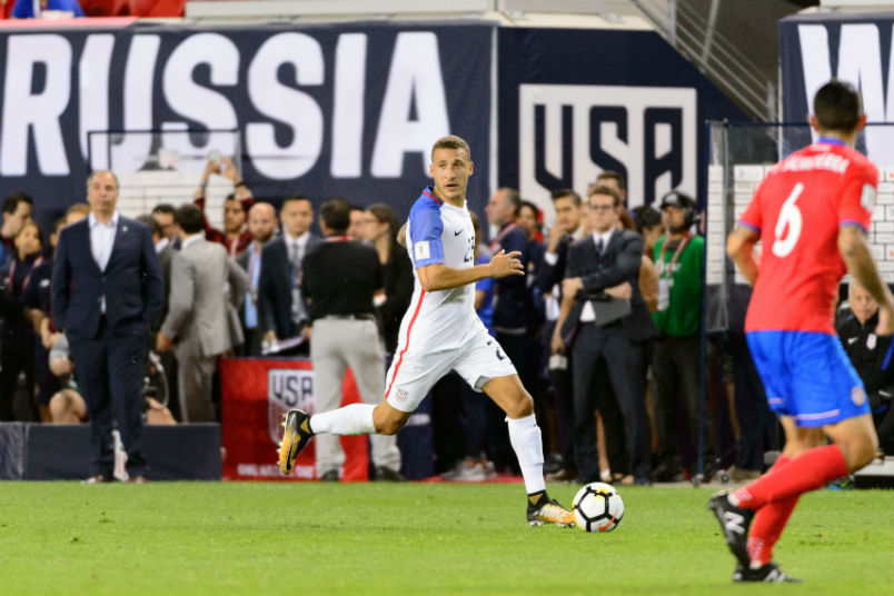 U.S.  men's World Cup hopes brighten with tie against Honduras