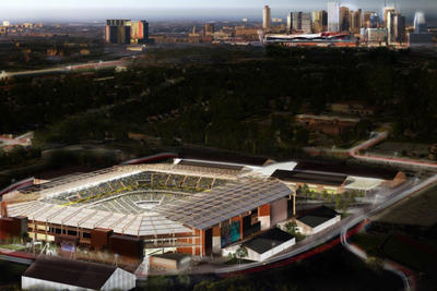 The stadium game continues in MLS