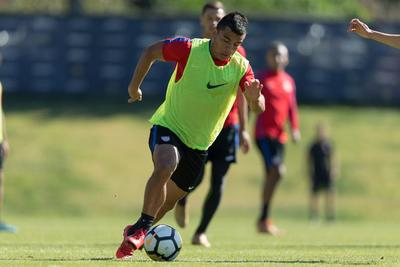 USMNT newcomers try to catch a cap