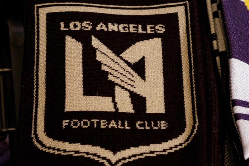 An LAFC scarf.