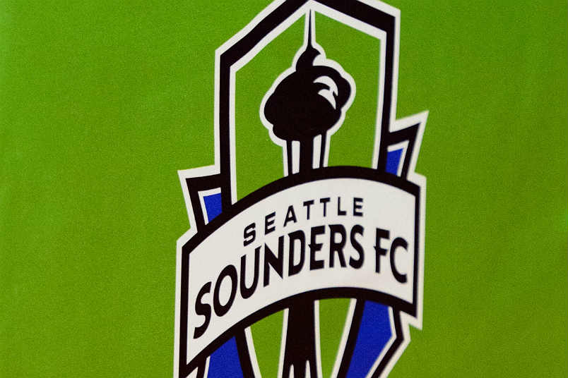 The Seattle Sounders logo.