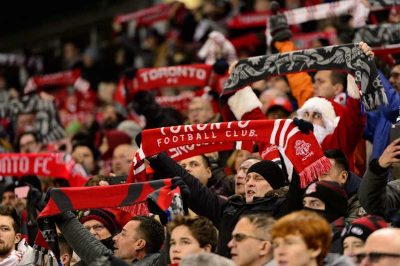 Toronto FC fans.