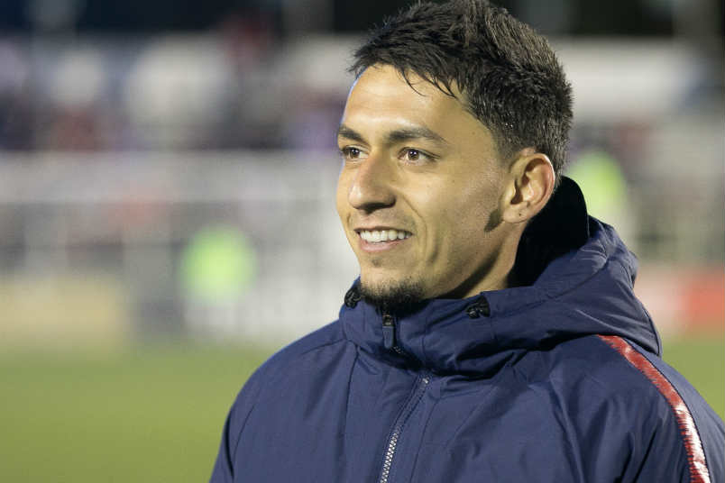 USMNT player Marky Delgado.