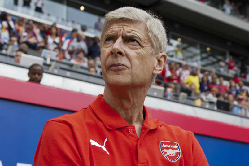 Arsenal Wenger And Mls Us Soccer Players