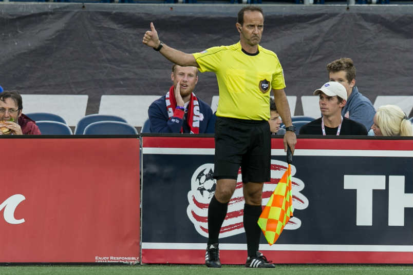 MLS assistant referee Claudio Badea.
