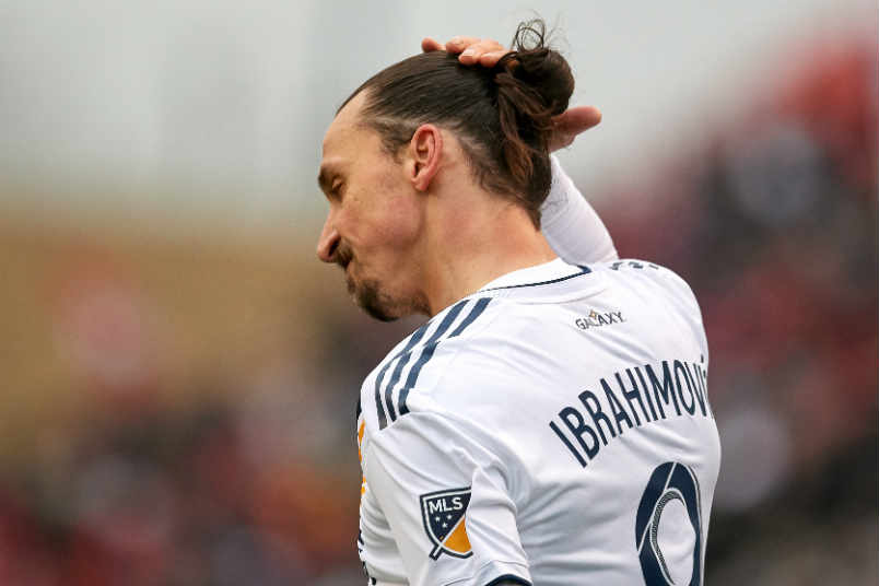 Sweden striker Zlatan Ibrahimovic