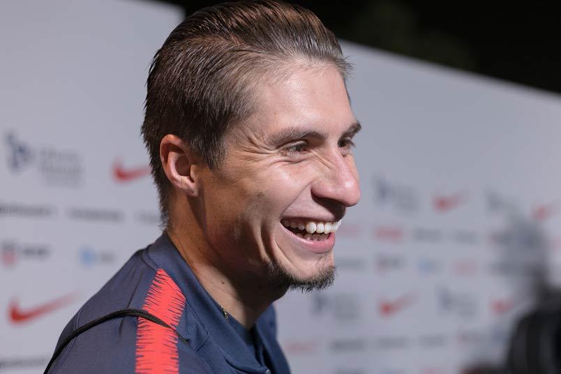 USMNT player Jorge Villafana.