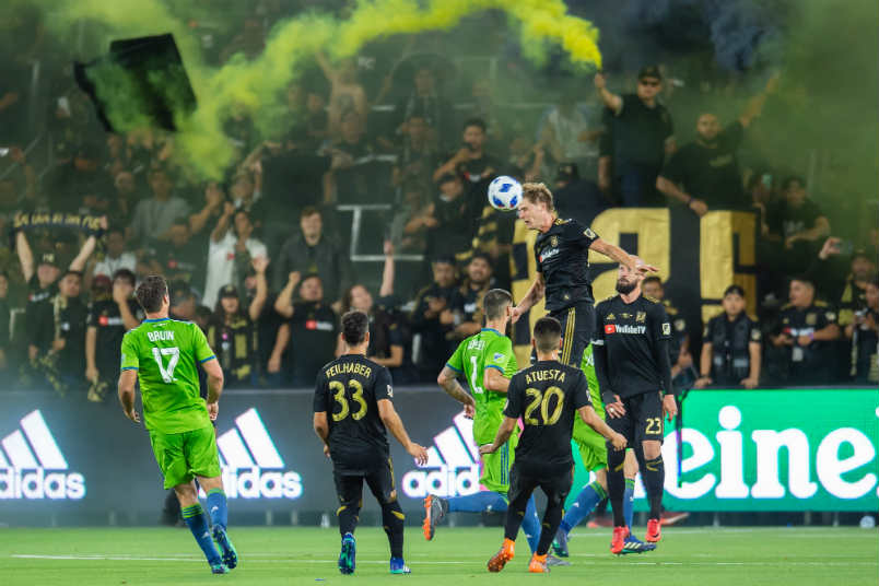 LAFC vs Seattle.