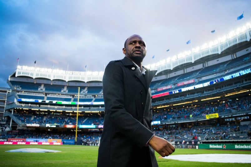 NYCFC coach Patrick Vieira.