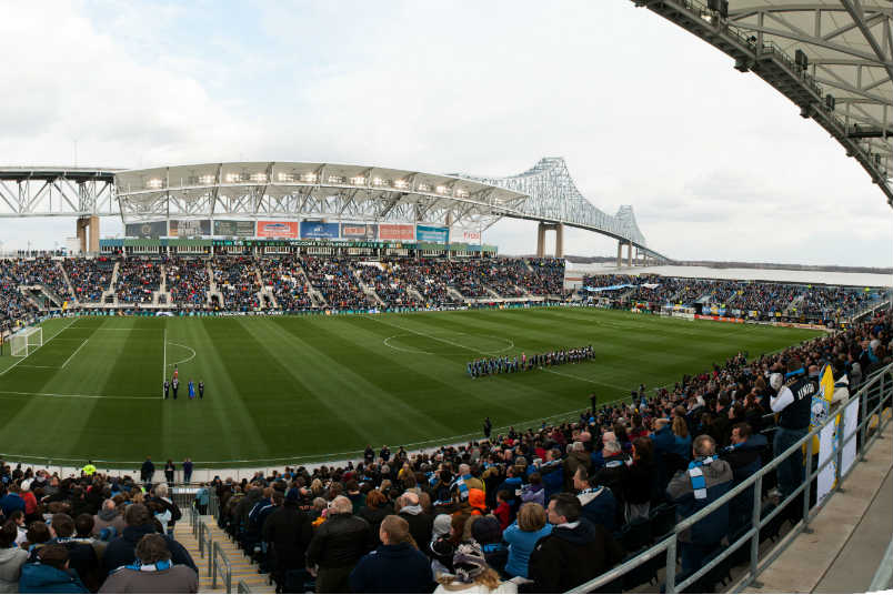 Philadelphia Union stadium.