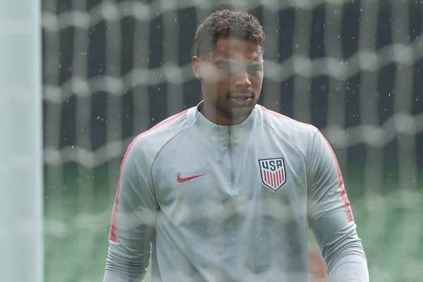 USMNT goalkeeper Zack Steffen.