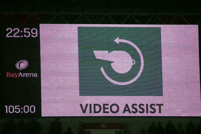 Video assistant referee.