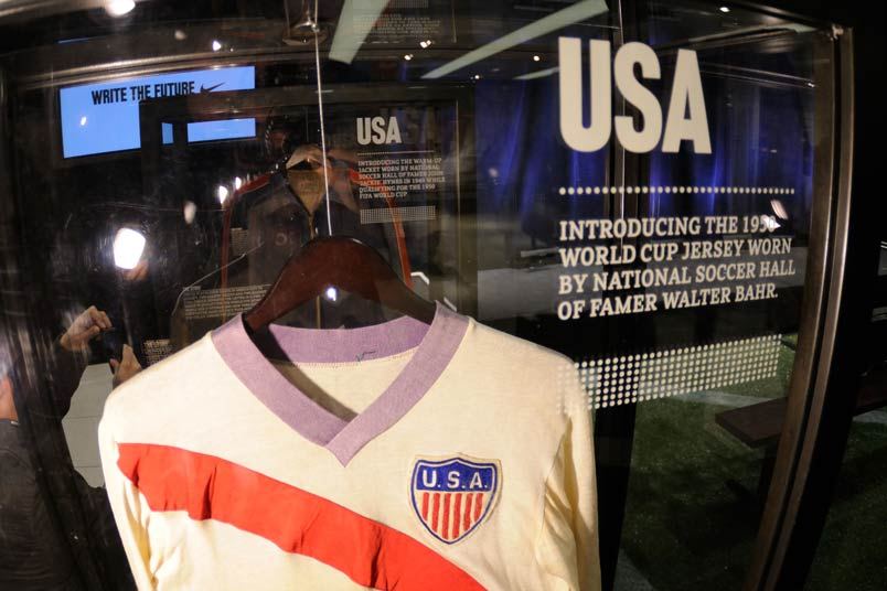 Walter Bahr's 1950 World Cup shirt.