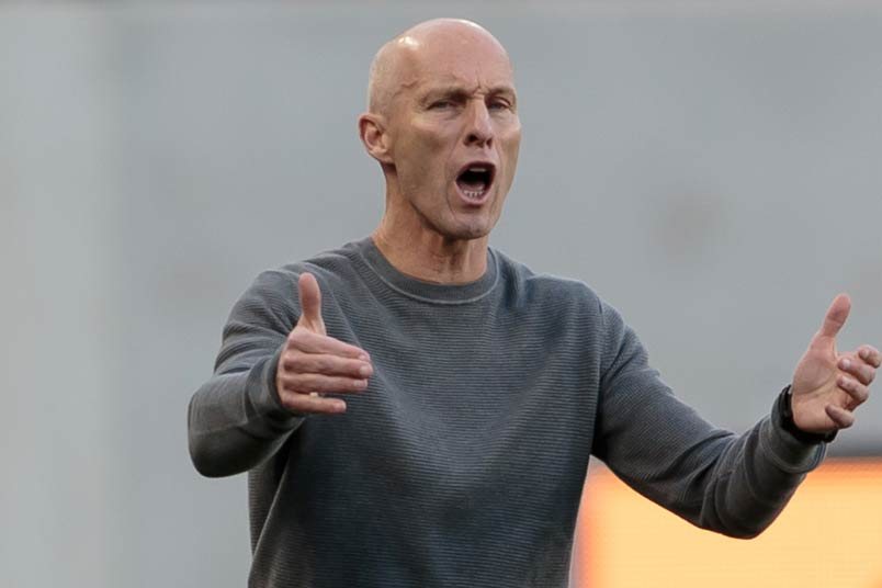LAFC coach Bob Bradley
