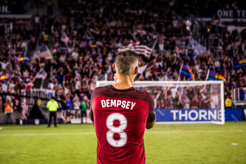 US Soccer player Clint Dempsey