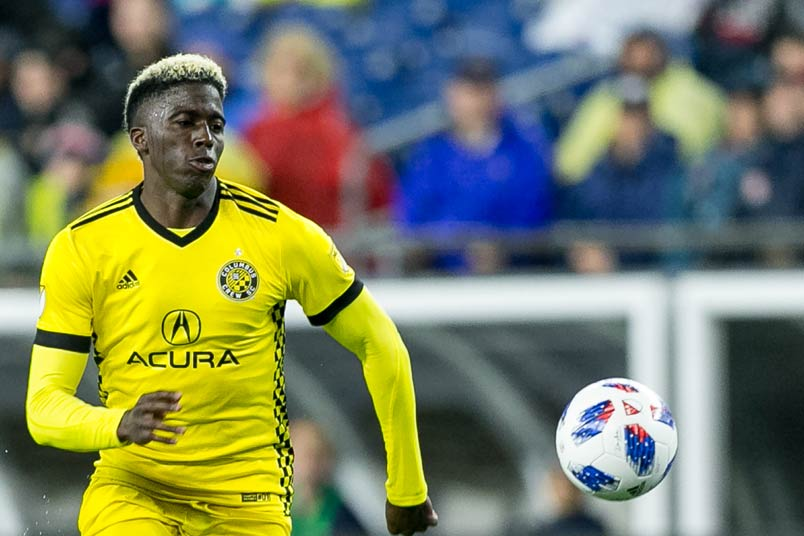 Columbus Crew forward Gyasi Zardes